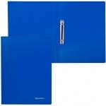 Папка на 2-х кольцах А4 Brauberg Бюджет синяя, 21 мм