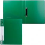 Папка на 2-х кольцах А4 Brauberg Contract, 35 мм, зеленая