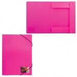 Пластиковая папка на резинке Brauberg Income ассорти, A4, до 180 листов