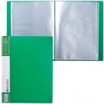 Папка файловая Brauberg Contract зеленая, А4, на 30 файлов