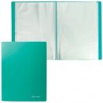 Папка файловая Brauberg Бюджет зеленая, А4, на 20 файлов