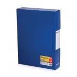 Папка файловая Brauberg Business синяя, А4, на 100 файлов