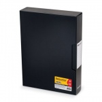 Папка файловая Brauberg Business, А4, на 100 файлов, черная