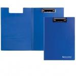 Клипборды с крышкой Brauberg Contract синяя, А4