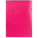 Папка-уголок Brauberg красная, A4, 100мкм