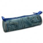 Пенал Пчелка 20х6.5см, Джинс, дизайн джинсы, ПТ-01