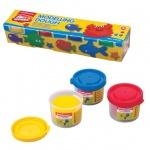 Пластичная масса для моделирования и лепки Erich Krause Artberry Modelling dough, 4 цвета, 140г