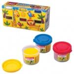 Пластичная масса для моделирования и лепки Erich Krause Artberry Modelling dough, 6 цветов, 210г