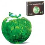 Пазл 3D Crystal Puzzle Яблоко, 45 элементов, светильник