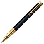 Ручка шариковая Waterman Perspective Black GT 0.5мм, синяя, черный/позолота 23карата корпус, S083090