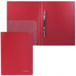 Скоросшиватель пластиковый Brauberg Диагональ, А4, красный