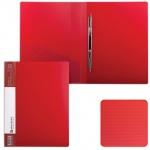Скоросшиватель пластиковый Brauberg Contract, А4, красный
