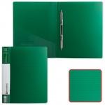 Скоросшиватель пластиковый Brauberg Contract, А4, зеленый