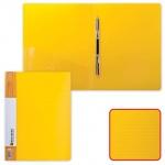 Скоросшиватель пластиковый Brauberg Contract, А4, желтый