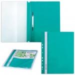 Скоросшиватель пластиковый Brauberg зеленый, А4, 10 шт/уп