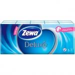 Носовые платки Zewa Deluxe 10уп х 10шт, 3 слоя