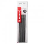 Стержень для шариковой ручки Stabilo, 0.3мм, 135мм, 10шт