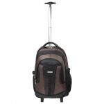 Рюкзак для мальчиков Brauberg Jax 2, черно-коричневый