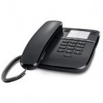 Телефон проводной Gigaset DA310, черный