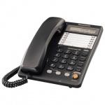 Телефон проводной Panasonic KX-TS2365RU черный
