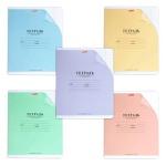 Тетрадь школьная Hatber с уголком, А5, 12 листов, в клетку, на скрепке, мелованный картон, справочный материал по математике