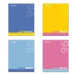 Тетрадь общая Brauberg One Color, А5, 96 листов, в клетку, на скрепке, мелованный картон