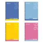 Тетрадь общая Brauberg One Color, A4, 96 листов, в клетку, на спирали, мелованный картон/ лак