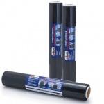 Стрейч-пленка Unibob Стандарт 45см х 100м, 23мкм, черная