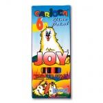 Фломастеры Carioca Joy 6 цветов, смываемые