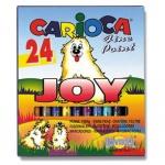 Фломастеры Carioca Joy 24 цвета, смываемые