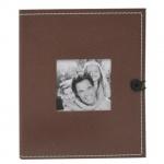 Фотоальбом Brauberg коричневый, 36 фото, 10х15см