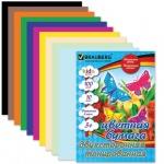 Цветная бумага Brauberg Kids Series 10 цветов, А4, 100 листов, двухсторонняя, тонированная