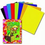 Цветная бумага Пифагор 8 цветов, А4, 16 листов, Гномик-грибник