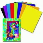 Цветная бумага Пифагор 8 цветов, А4, 16 листов, Гномик на карнавале