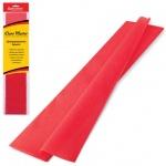 Бумага крепированная Brauberg, 50х200см, 25г/м, растяжение до 65%, красный