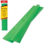 Бумага крепированная Brauberg, 50х200см, 25г/м, растяжение до 65%, зеленый