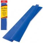 Бумага крепированная Brauberg, 50х200см, 25г/м, растяжение до 65%, синий
