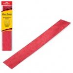 Бумага крепированная Brauberg, 50х100см, 50г/м, растяжение до 35%, металлик, красный