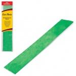 Бумага крепированная Brauberg, 50х100см, 50г/м, растяжение до 35%, металлик, зеленый