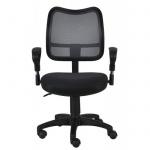 Кресло офисное Бюрократ CH-799AXSN ткань, черная, TW, крестовина пластик