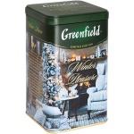 Чай Greenfield Winter Pleasure (Винтэ Плежа), черный, листовой, ж/б, 150 г
