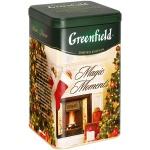 Чай Greenfield, черный, листовой, ж/б, 150 г, Мэджик Моментс