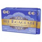 Масло сливочное Из Вологды Традиционное высший сорт 82.5%, 180г