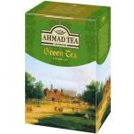 Чай Ahmad Green Tea (Зеленый Чай), зеленый, листовой, 90 г
