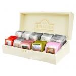 Набор чая Ahmad Contemporary 10 сортов, 100 пакетиков, в деревянной шкатулке