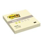Блок для записей с клейким краем Post-It Basic желтый, пастельный, 76х76мм, 100 листов, Z-блок, R300-BY