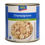 Грибные консервы Aro шампиньоны резаные, 2550г