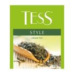Чай Tess для сегмента HoReCa Style (Стайл), зеленый, 100 пакетиков, Стайл