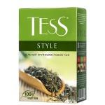 Чай Tess Style (Стайл), зеленый, листовой, 100 г