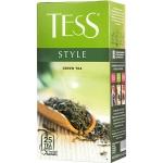 Чай Tess Green Style (Стайл), зеленый, 25 пакетиков